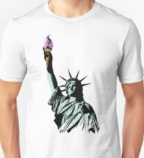 A soft serve of Liberty Slim Fit T-Shirt