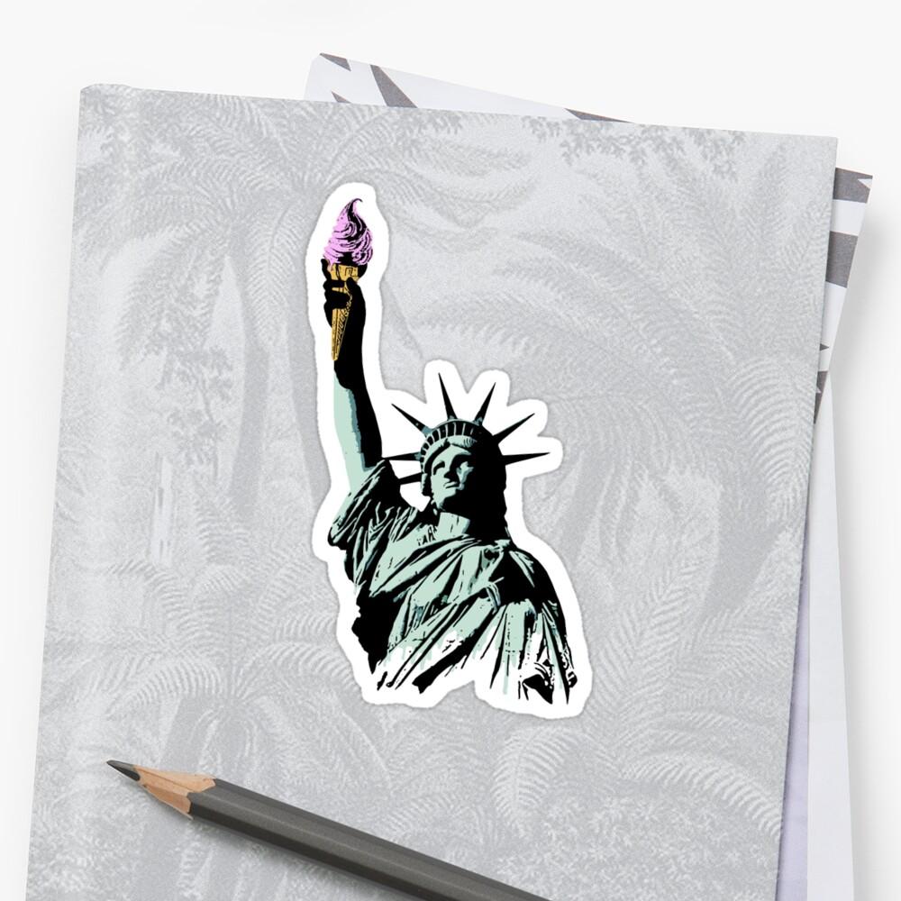 A soft serve of Liberty by nofrillsart