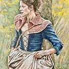 Claire at the Boar Hunt by BusyFeeArt