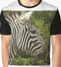 Grant's Zebra Graphic T-Shirt