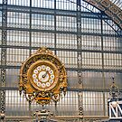 Ornate Clock Musee D'Orsay - Paris - France by Buckwhite