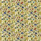 Elizabethan Swirl Embroideries by BonniePhantasm