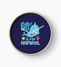 N ist für Narwal Uhr