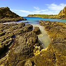 Cathedral Rocks South in the westerly by Ian Robinson