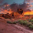 Wukoki Ruin - 2 by BGSPhoto