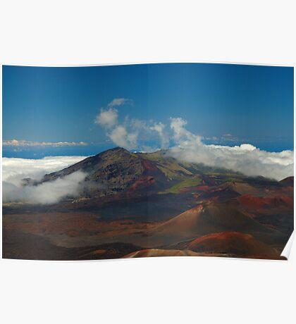 Haleakala Volcano, Maui, Hawaii Poster