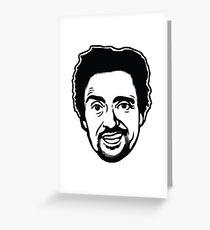 Richard Hammond Cartoon design Greeting Card