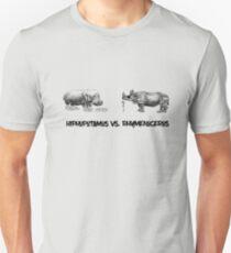 HipHopotamus Vs. Ryhmenoceros.  Unisex T-Shirt