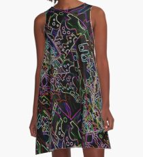 Night in Morocco  A-Line Dress