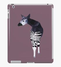 Okapi in Purple iPad Case/Skin
