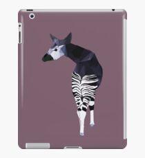 Okapi in Purple iPad Case/Skin