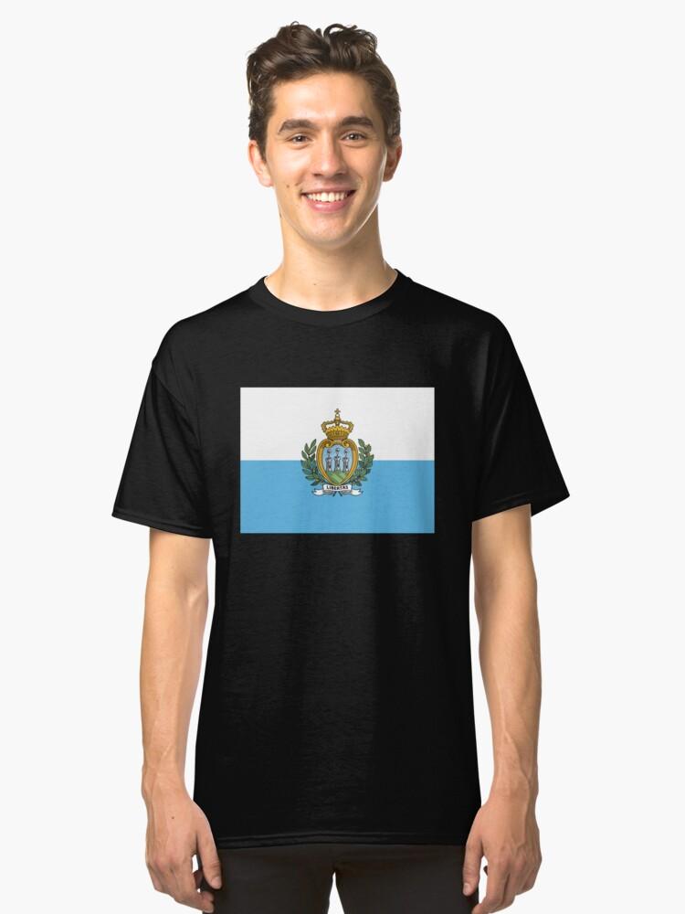 San Marino, Italy. Classic T-Shirt Front