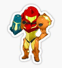 Samus Returns - Varia Suit Sticker