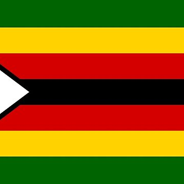 Flag of Zimbabwe by Smaragdas