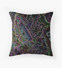 Night in Morocco  Throw Pillow