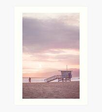 Venedig Surf, Ca. 3 Kunstdruck