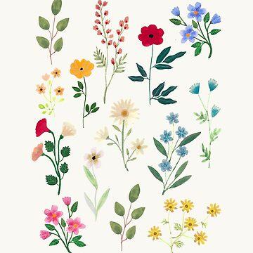 «Botaniques du printemps» par artiisan