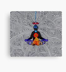 Psychedelic meditiation  Canvas Print
