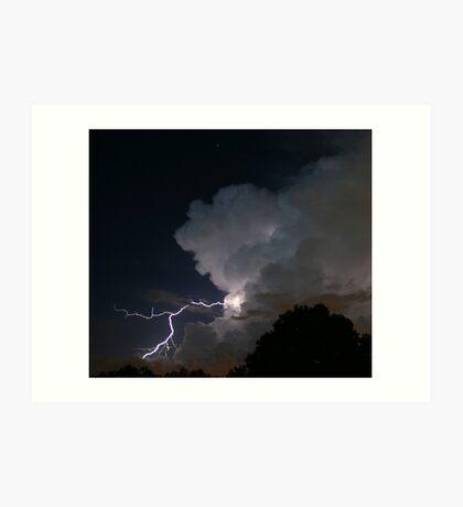 Late Evening Thunderstorm Art Print