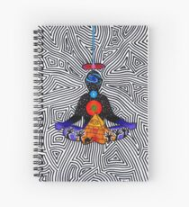 Psychedelic meditiation  Spiral Notebook