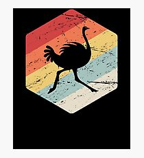 Ostrich Farmer - Gift For Ostrich Breeders Photographic Print