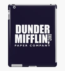 The Dunder Office Mifflin Inc. Design, T-Shirt, tshirt, tee, jersey, poster, Original Funny Gift Idea, Dwight Best Quote From iPad Case/Skin