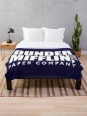 The Dunder Office Mifflin Inc. Design, T-Shirt, tshirt, tee, jersey, poster, Original Funny Gift Idea, Dwight Best Quote From Throw Blanket