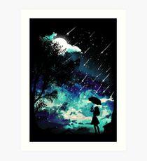 Meteor Shower Art Print