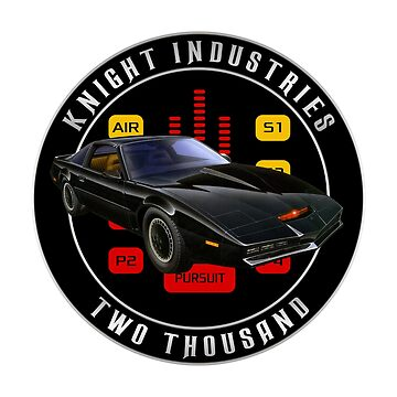 Knight Industries Two Thousand Knight Rider Michael Knight Inspired design by landobry
