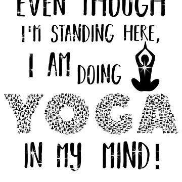 Yoga in my mind by JohnyZero