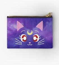 Luna the Galaxy Cat Zipper Pouch