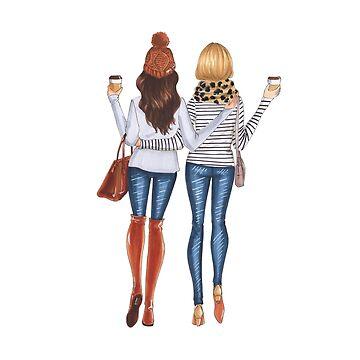 fall girls by reyniramirezfi