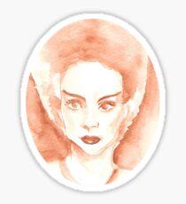 Bride of Frakenstein Sticker