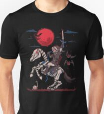 The Red Moon Rises  Slim Fit T-Shirt