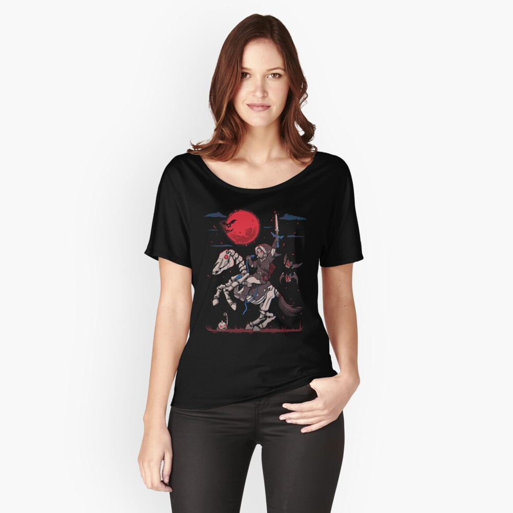 The Red Moon Rises  Relaxed Fit T-Shirt