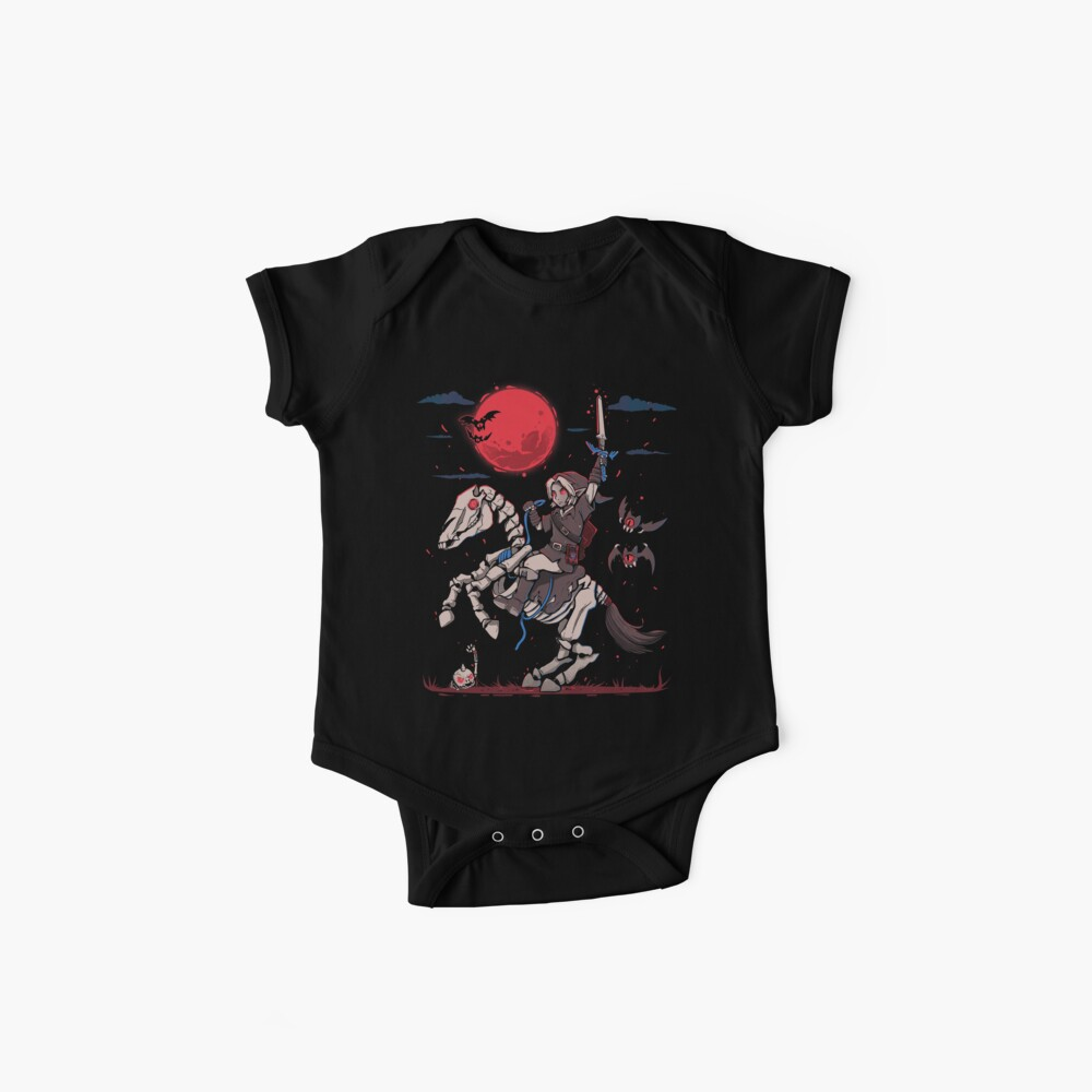 The Red Moon Rises  Baby One-Piece