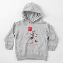 The Red Moon Rises  Toddler Pullover Hoodie