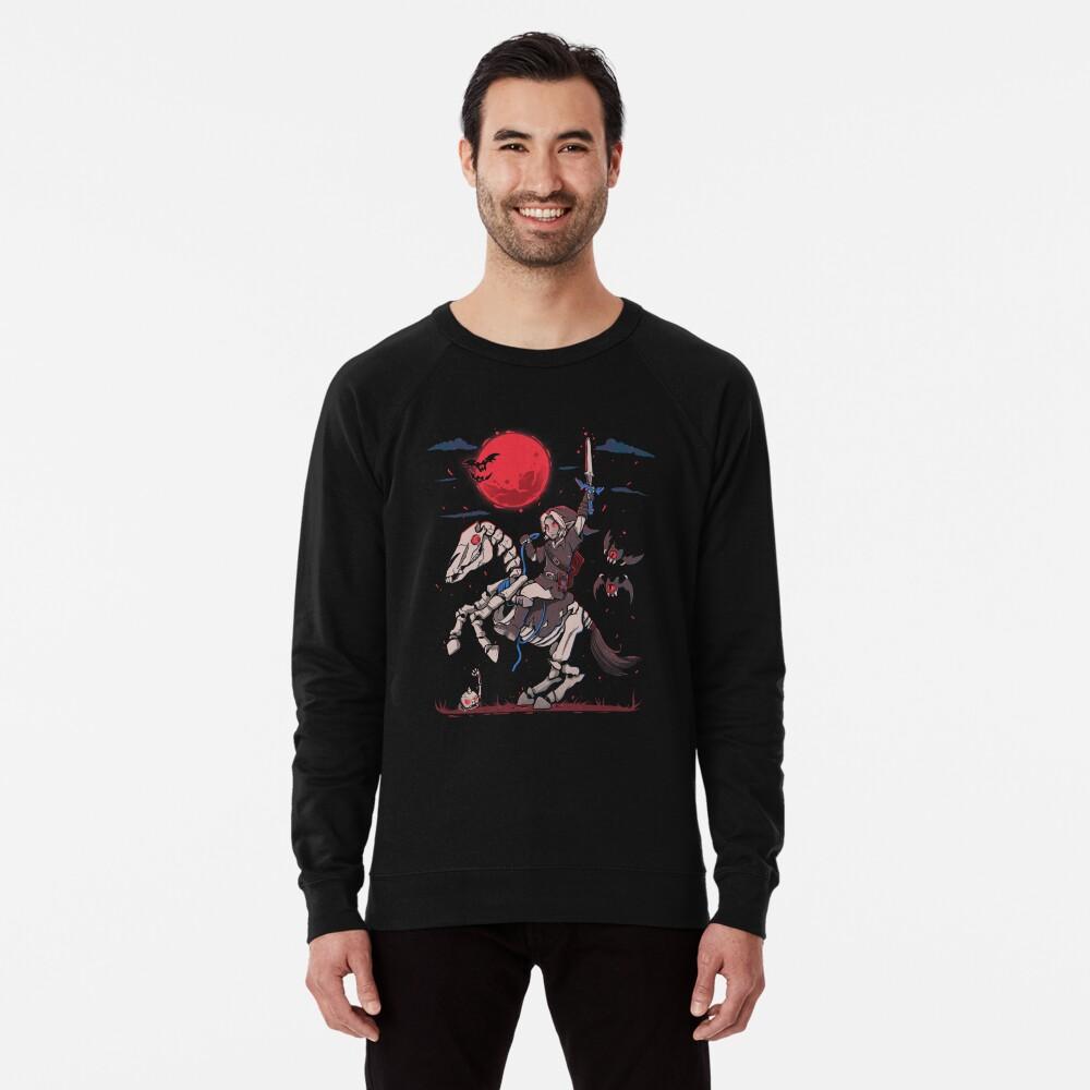 The Red Moon Rises  Lightweight Sweatshirt