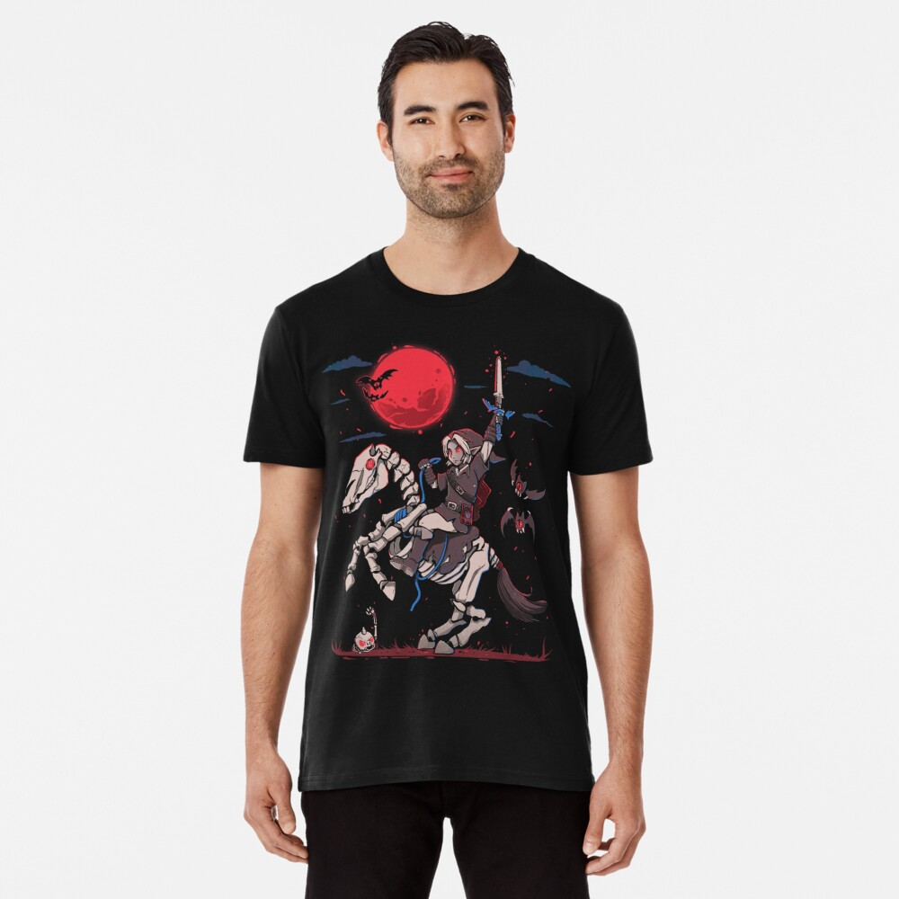 The Red Moon Rises  Premium T-Shirt