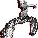 Flamenco Dancer - Female Vector Artwork  by Deana Greenfield