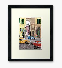 Call me by Your Name Drawing - Elio & Oliver - Crema Framed Print