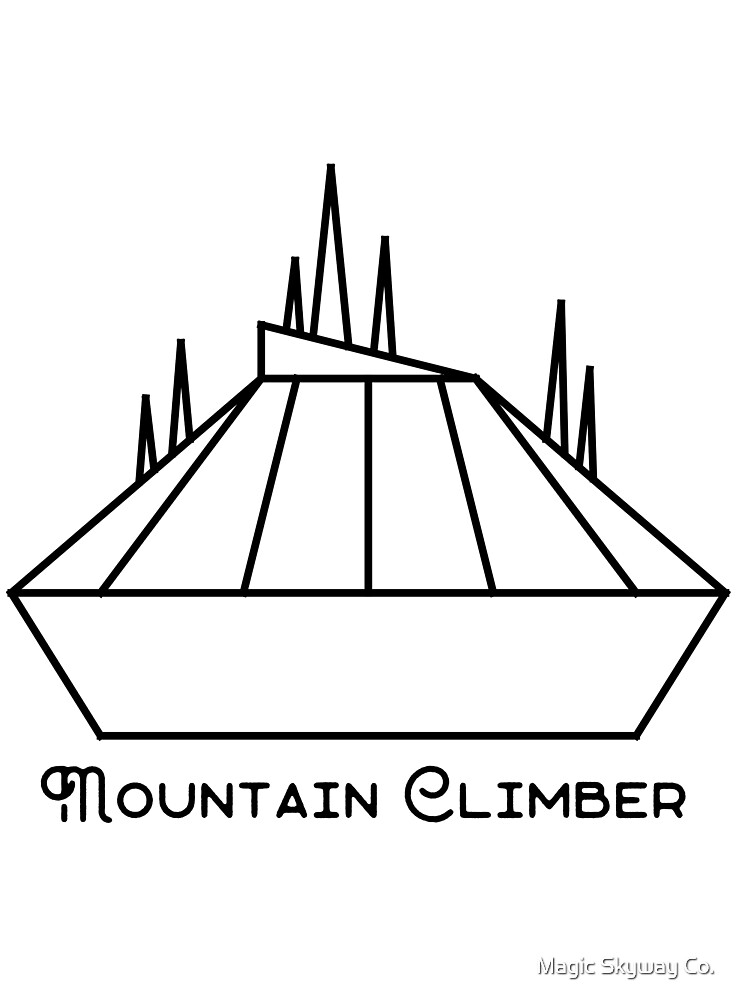 (Space) Mountain Climber by Magic Skyway Co.