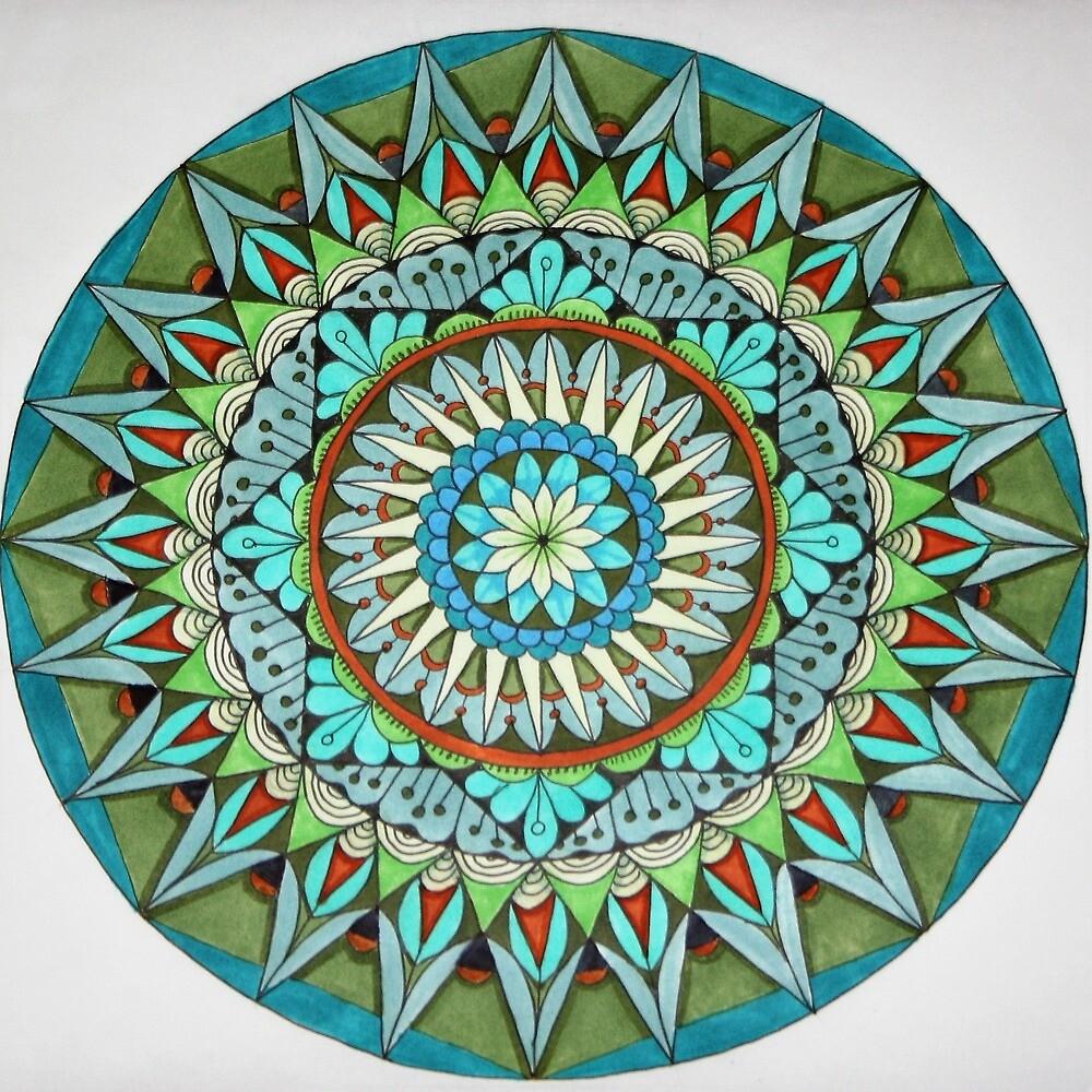 Earth Mandala by jjupin