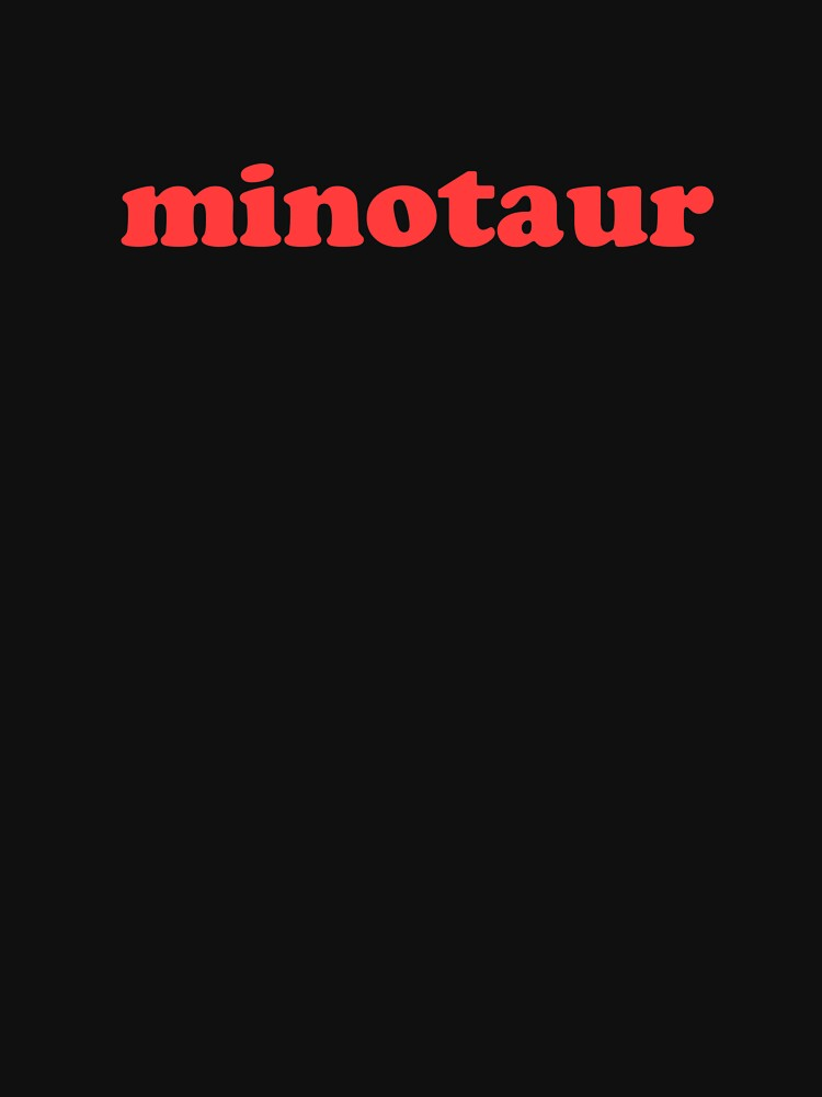 Retro Greek Mythology Minotaur by EMDdesign