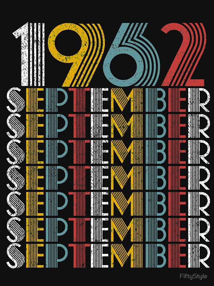 Vintage September 1962 Birthday Gifts by FiftyStyle