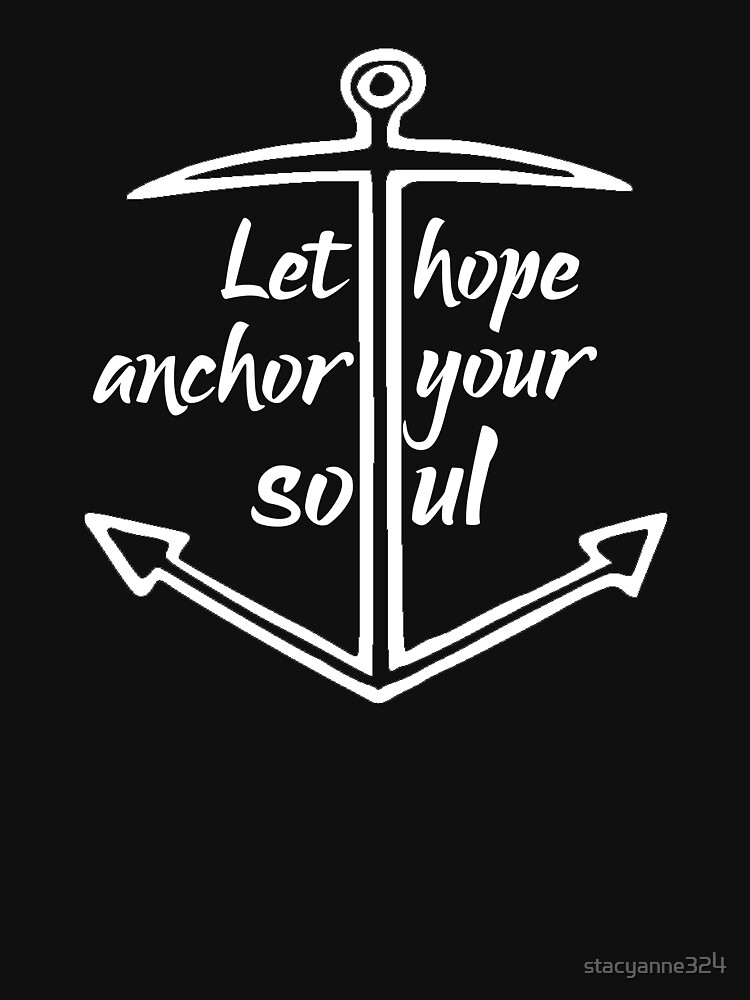 Nautical Let Hope Be an Anchor Religious Jesus by stacyanne324