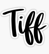 Tiff Sticker