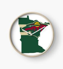Minnesota Wild: State of Hockey Clock