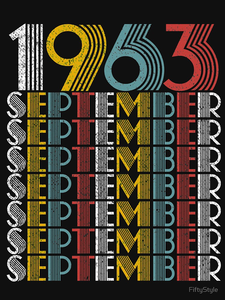 Vintage September 1963 Birthday Gifts by FiftyStyle
