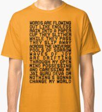 ACROSS THE UNIVERSE (black) Classic T-Shirt